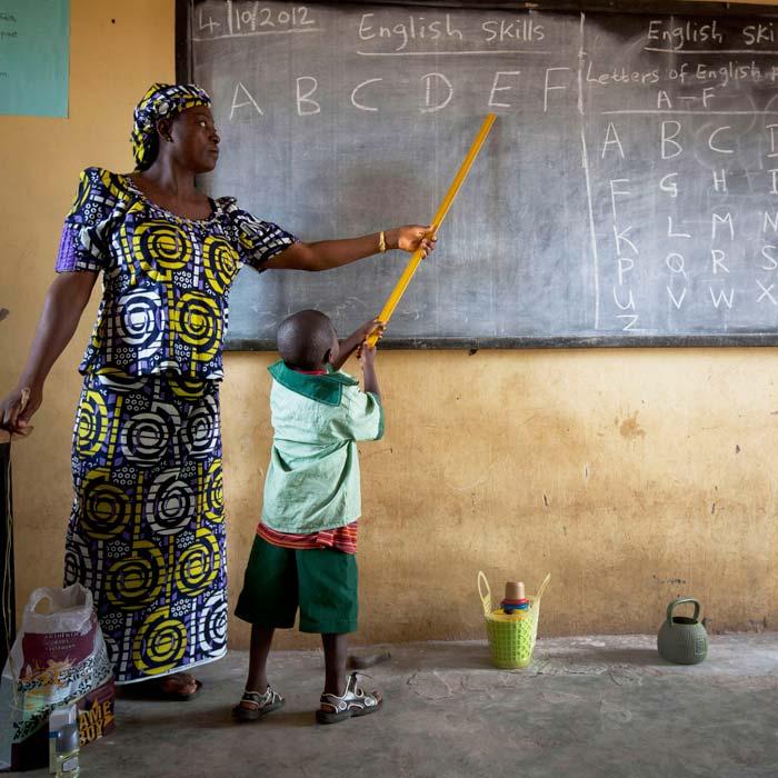 Equip a classroom