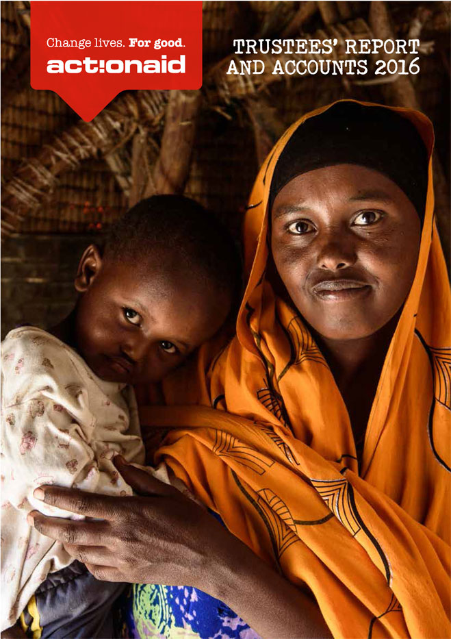 ActionAid UK annual report, 2016