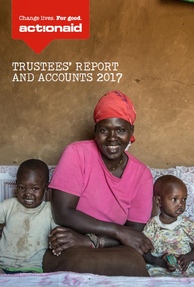 ActionAid UK annual report, 2017
