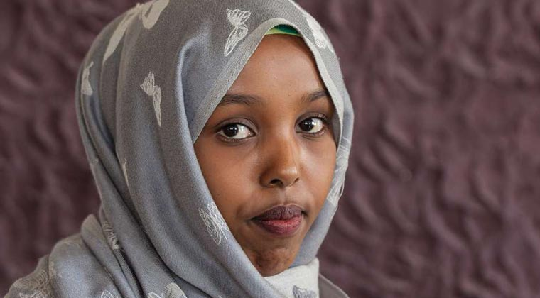 Zeinab, ActionAid women's rights coordinator, Somaliland