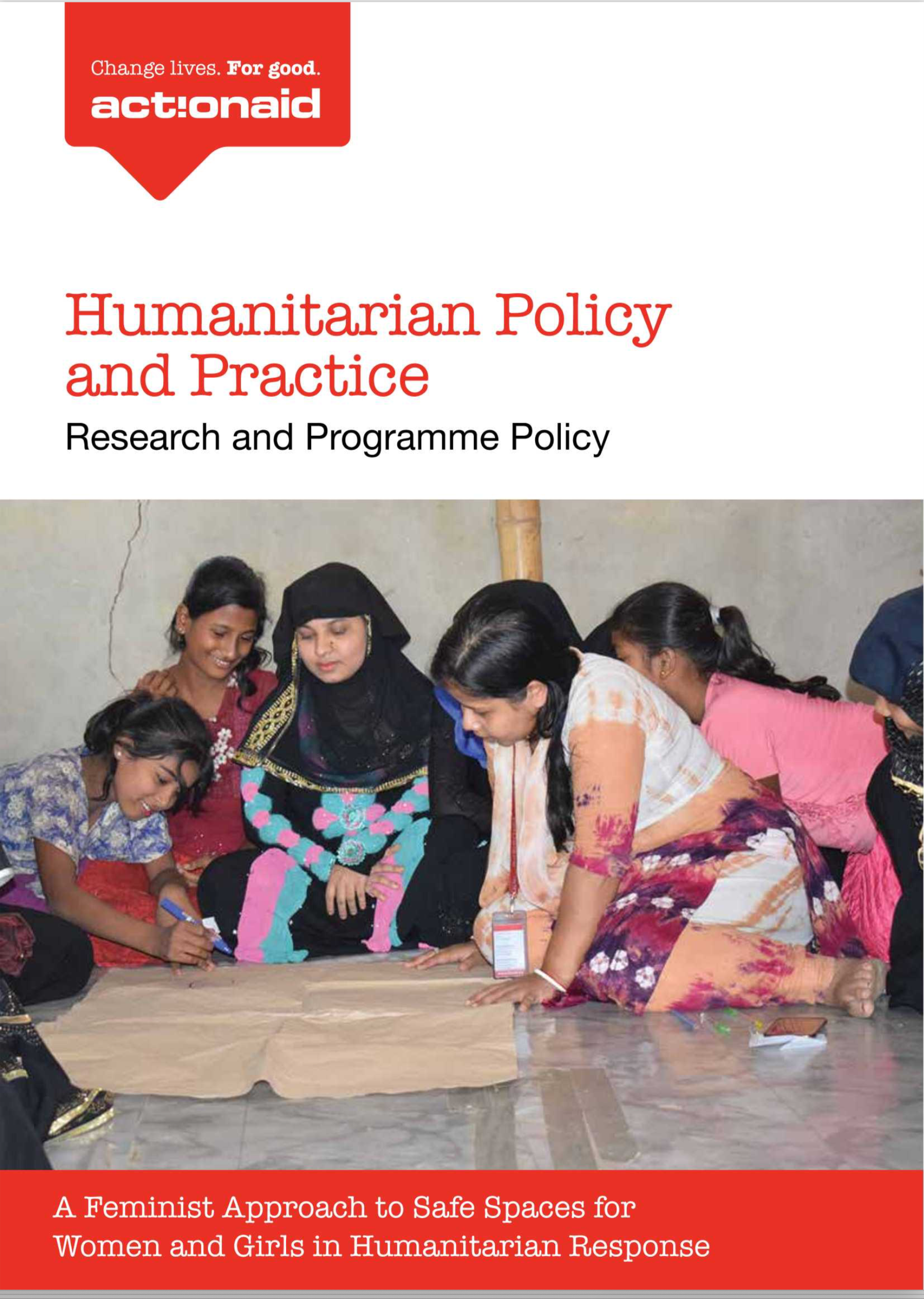 A feminist approach to safe spaces for women and girls in humanitarian response