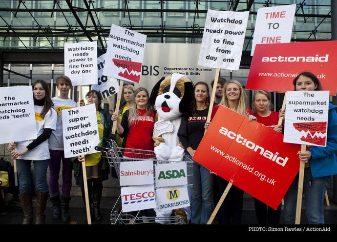 Supermarket watchdog campaign