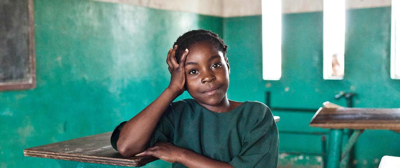 Rosemary Mpapa, Ndege Basic School, Zambia