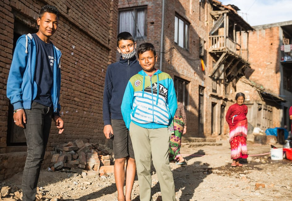 Sumit has been a member of an ActionAid supported Children's Club for two years.