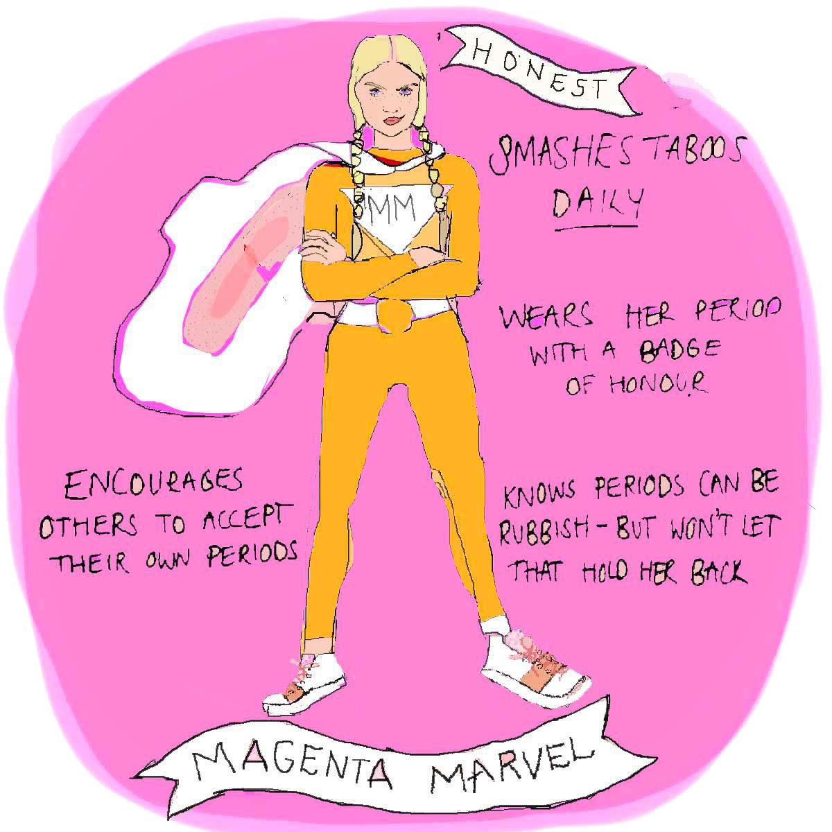 Magenta Marvel
